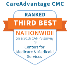 2016 nationwide ratings based on member feedback about the service received from their health plan and providers.